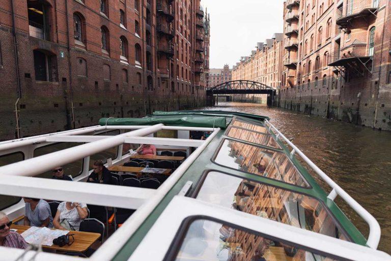 Historische Fleetfahrt Hamburg – 2 Stunden