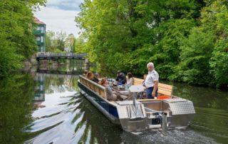 Leipziger Stadtrundfahrten mit den roten Doppeldeckern + Kanalfahrt