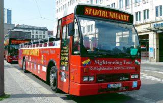 Leipziger Stadtrundfahrten mit den roten Doppeldeckern