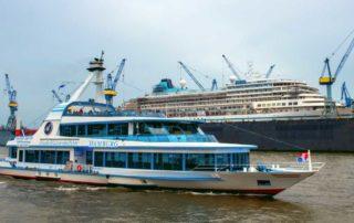 Elbreederei Abicht - Hafenrundfahrt Hamburg - HHM Werft