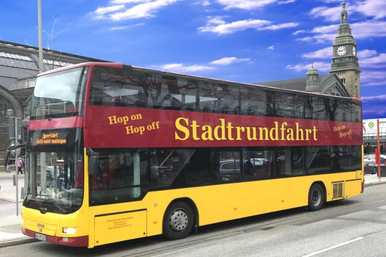 Stadtrundfahrt Hamburg – Tagesticket – Hop On Hop Off – Classic Linie C