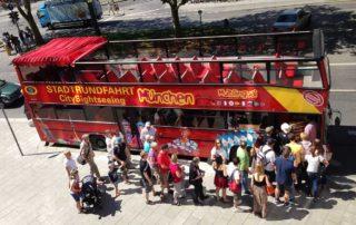 Stadtrundfahrten München - CitySightseeing