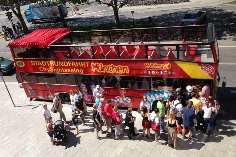 Stadtrundfahrt München – CITY TOUR – Hop On Hop Off