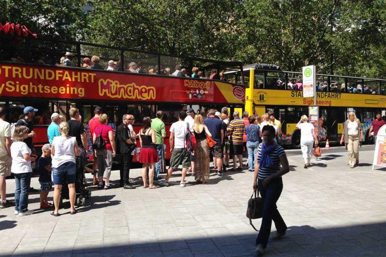 Stadtrundfahrt München – ALLE TOUREN 2-Tage-Ticket – Hop On Hop Off