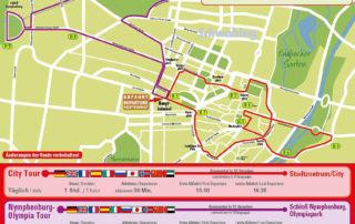 Tourenplan - Stadtrundfahrten München - CitySightseeing